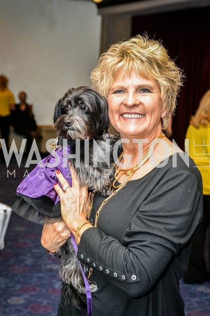 Diane attending the Bark Ball, featured in Washington Life Magazine
